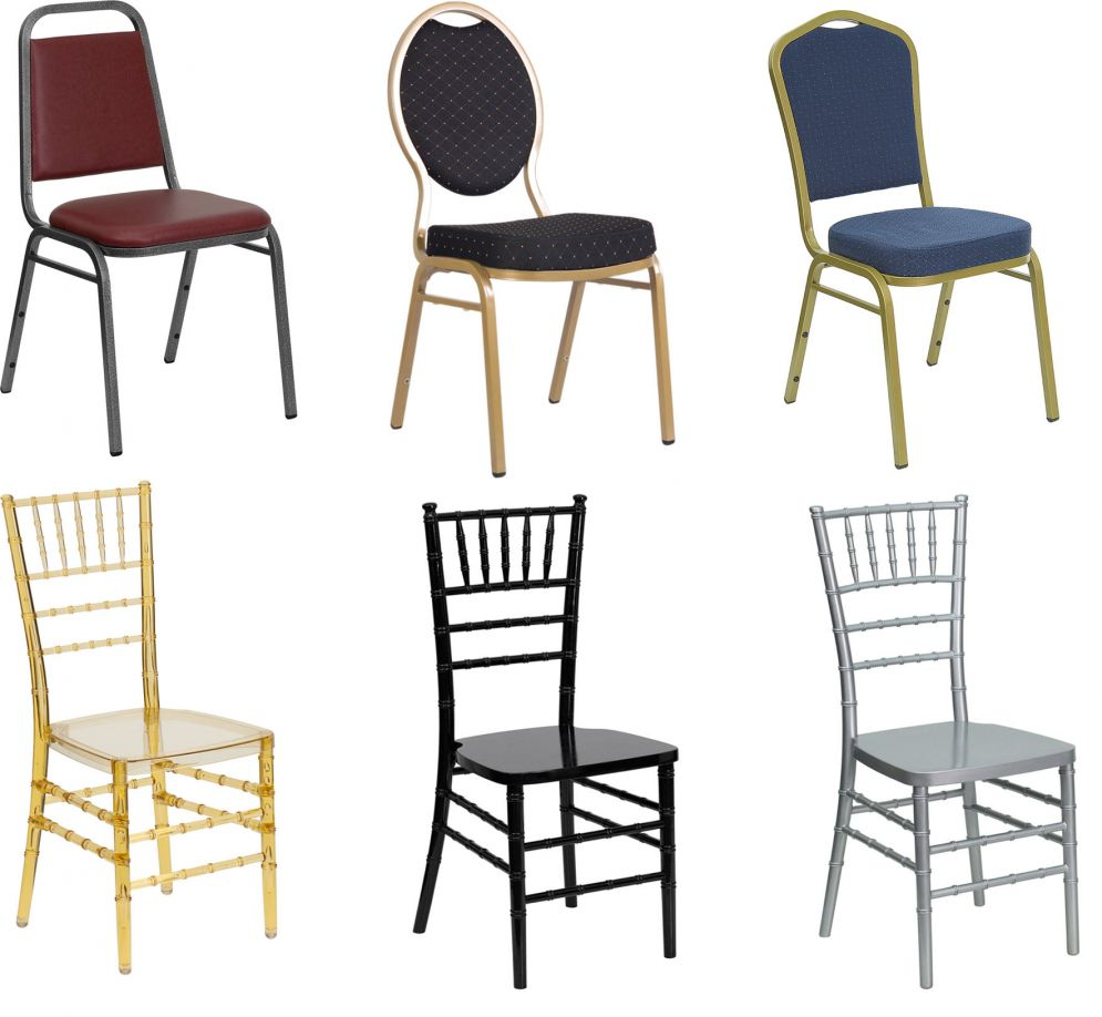 Banquet and Chiavari Chairs