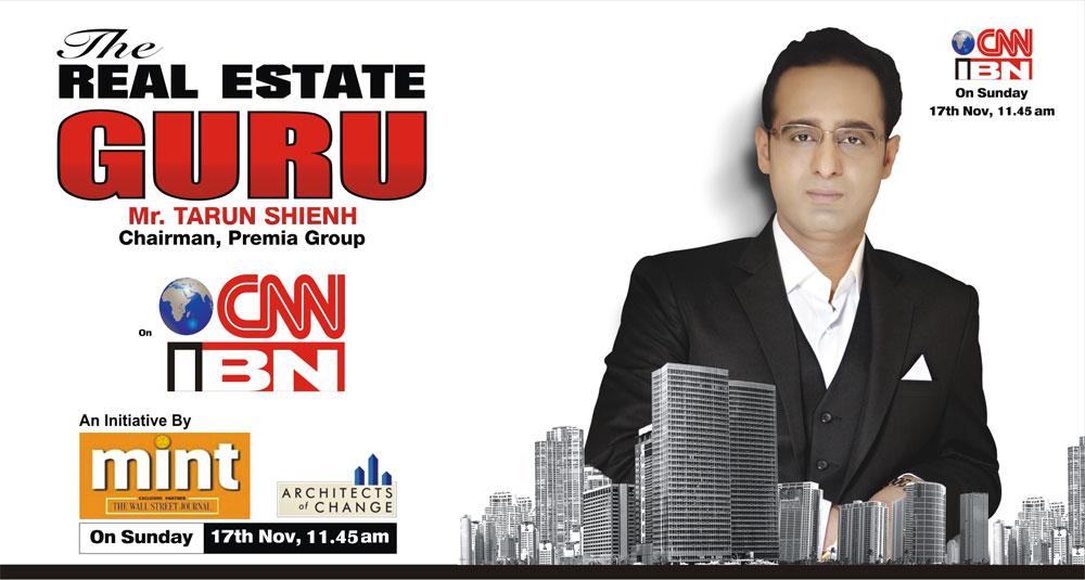 Watch Mr. Tarun Shienh on CNN IBN Sunday 11:45AM