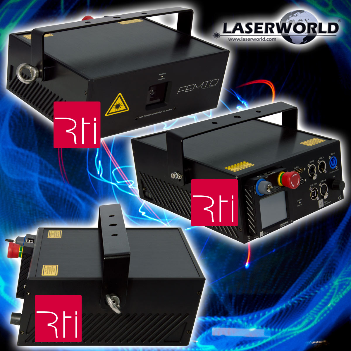 RTI FEMTO Laser - by Laserworld