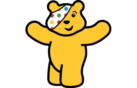 Pudsey Chocolate Cake