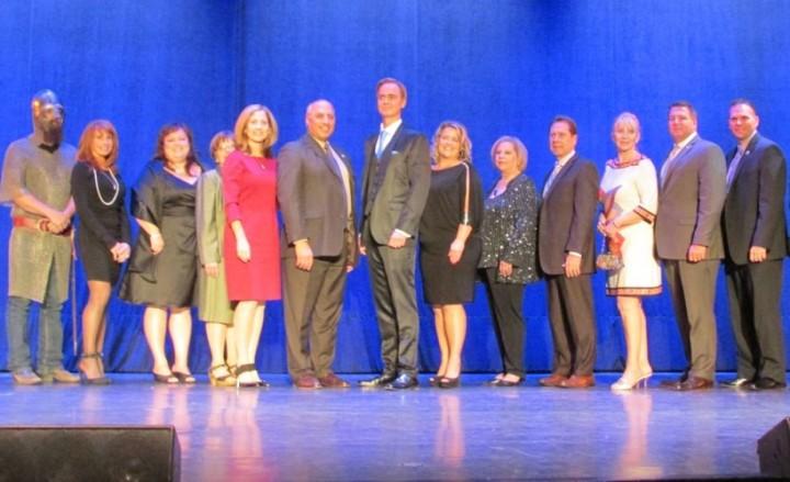 Las Vegas Hometown Heroes Leif Erikson Award Honorees and Presenters