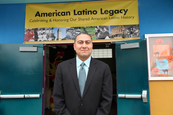 Dr. Robert Ornelas at Ruben F. Salazar Park Los Angeles, CA