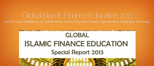 Global Islamic Finance Education Report 2013
