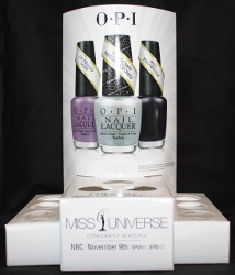 OPI Miss Universe 2013 Nail Lacquer Collection Offered by Nail Polish and More
