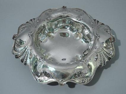 gorham martele sterling silver centerpiece bowl ci