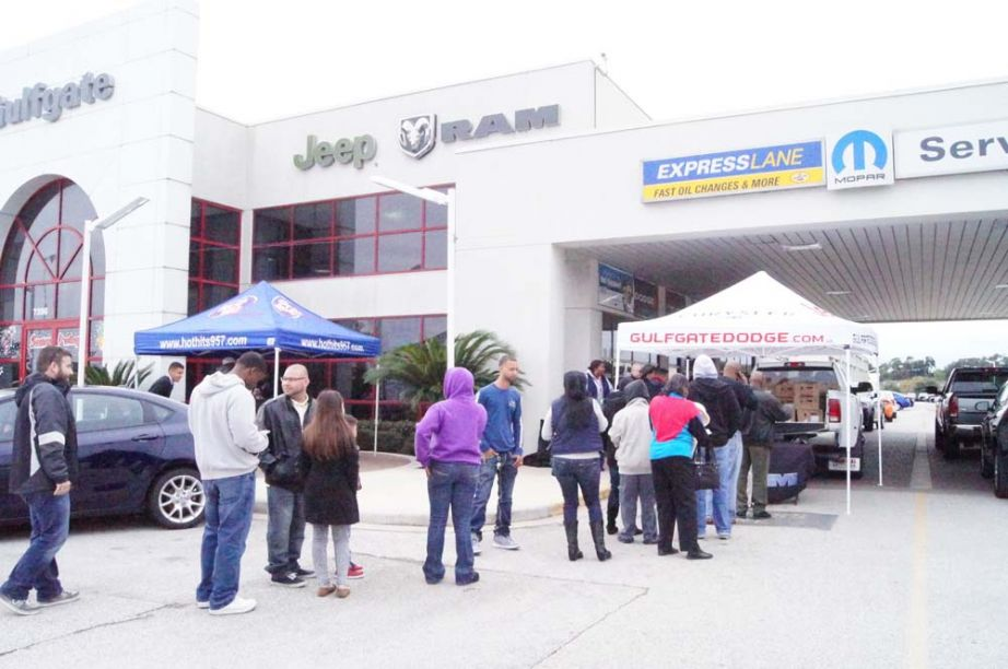 "Gulfgate Dodge Houston Texas >> ""Great Turkey"" Giveaway is a Great Success -- Gulfgate Dodge Chrysler Jeep Ram 
