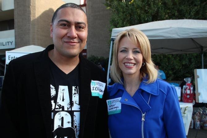Dr. Robert Ornelas and Fresno, CA Mayor Ashley Swearengin