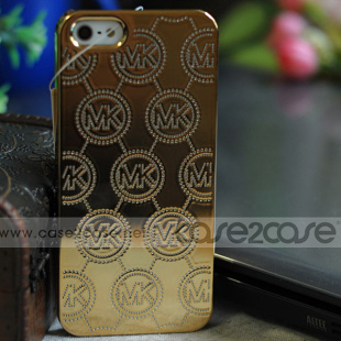 MICHAEL KORS iphone 5S case Metallic Embossed