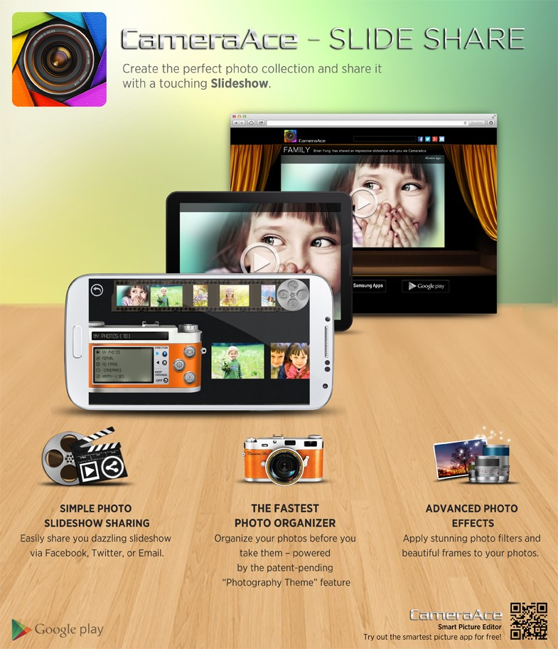 CameraAce Slideshow Share