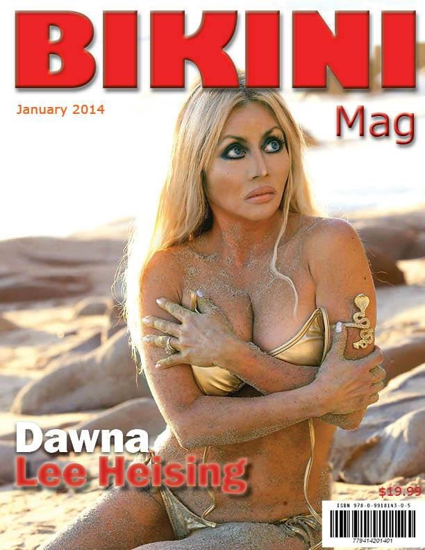 Bikini Magazine Cover - Jan 2014