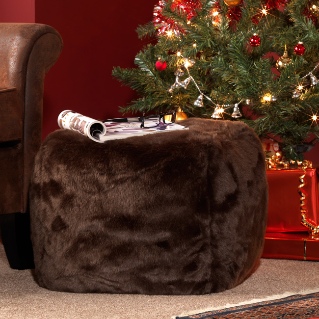 New Faux Fur Bean Bags Are Warmest Of The Winter Warmers