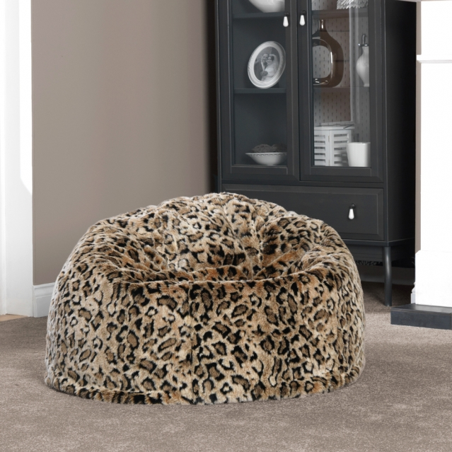 new faux fur bean bags are warmest of the winter warmers. Black Bedroom Furniture Sets. Home Design Ideas