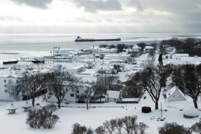 Winter on Mackinac Island
