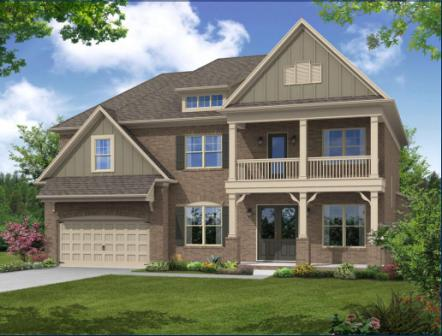 The Stunning Brentwood Floorplan is Exclusive to Acadia's Woodland Cove