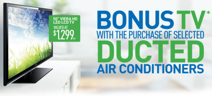 Fantastic offer from Panasonic & J.E.C Air Conditioning Services