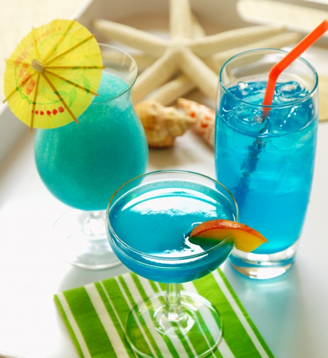 Blue Drink (© 2013 Lisarae Photo Design)