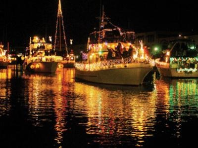 Destin's Lighted Boat Parade