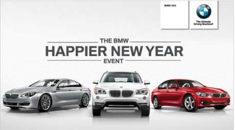 BMW Happier New Year Event - Gebhardt BMW Boulder, CO
