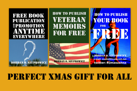 Book Covers of the E-Guides available as Xmas Gifts