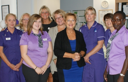The team at Rochdale NHS Ophthalmology CATS.