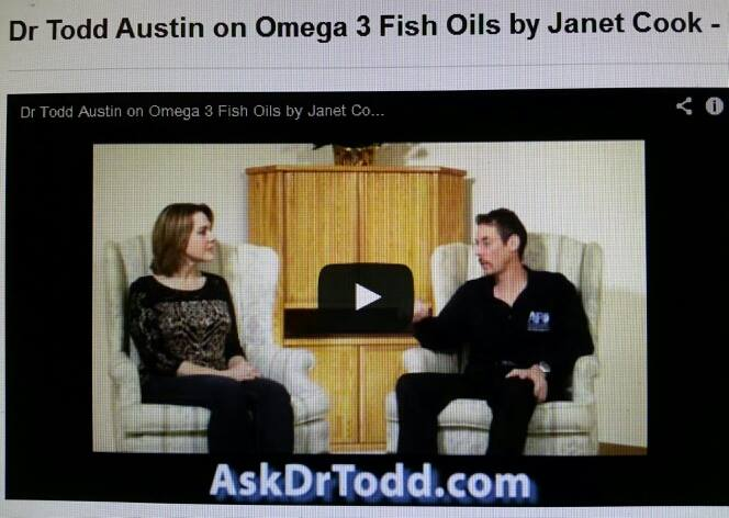 "Dr Todd Austin & Health Coach Janet Cook on ""The Dr Todd Show"""