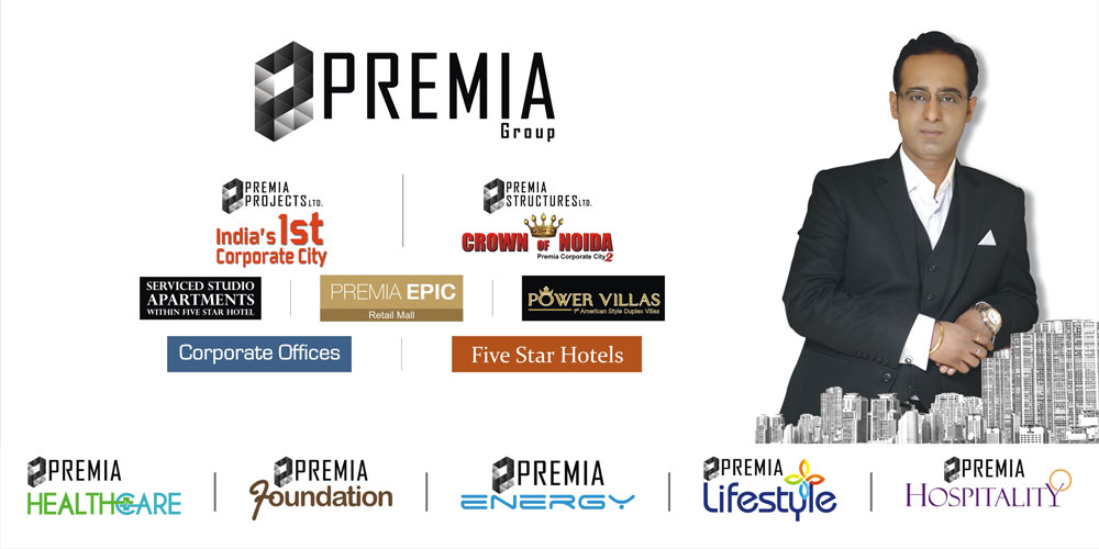 Premia Group's India's 1st Corporate City at Greater Noida, West