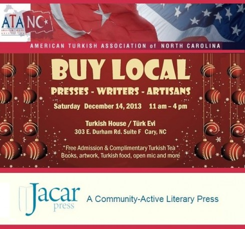 "Saturday, December 14, 2013 ""Buy Local Holiday Fair"" at Turkish House in Cary NC"