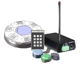 Ul Listed Wireless Nurse Call And Wander Management System
