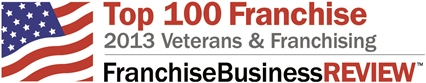 Franchise Business Review names CT as a top 2013 franchise for Veterans.