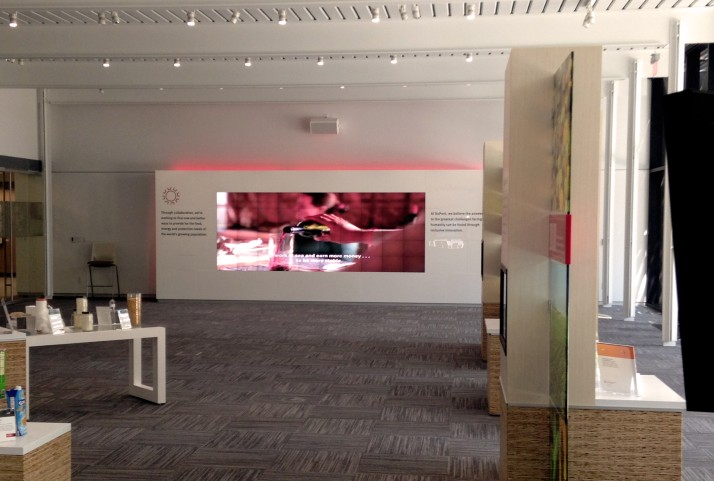 DuPont Collaboratory - MicroTiles Display Wall
