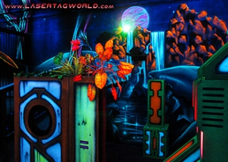 Laser tag arena designed by Creative Works