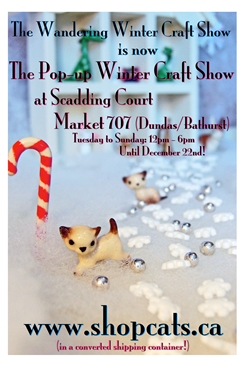 Shop Cats 4th Annual Winter Craft Show