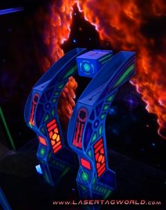 Creative Works' Laser Tag Arena in Zero Gravity