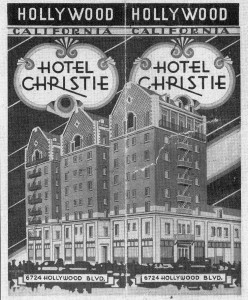 Chisitie Hotel - From 1930s Era Brochure