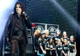 Alice Cooper with Academy students at THE Fundrais