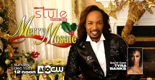 Paul Wharton Style Merry Mosaic on DC 50, The CW Network