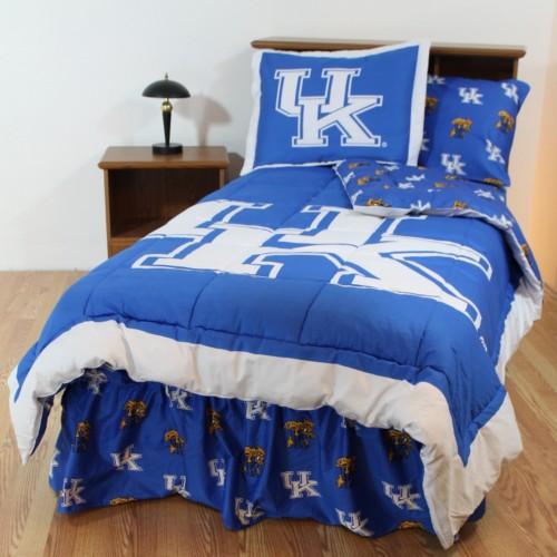 University Of Kentucky Wildats Bedding Certainty Stores