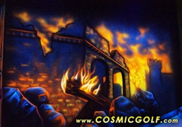 Creative Works Designs Interactive Cosmic Golf and Laser Tag Arenas