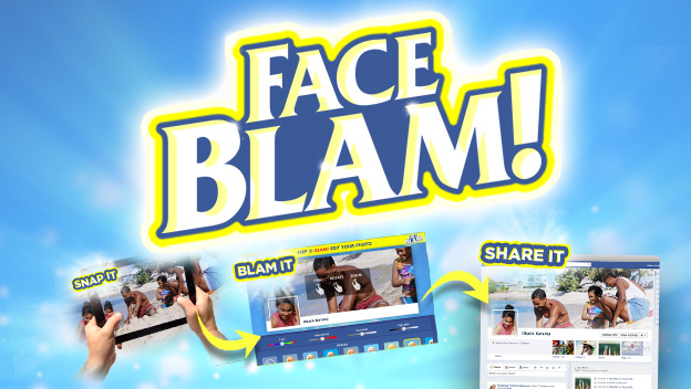 FaceBlam is now free for a limited time!