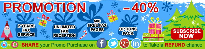 Popfax Winter Holidays Discount of 40% OFF