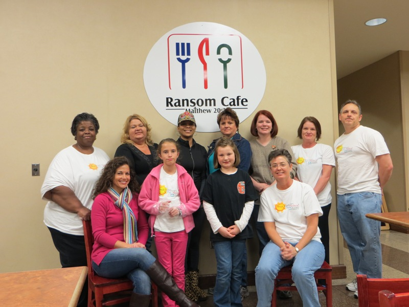 SETF associates helps Ransom Cafe's prepare Thanksgiving meals for the community