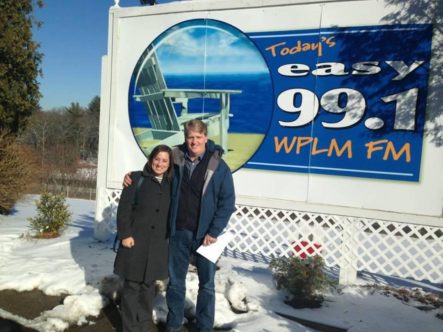 Michael McMahon and Marisa Pacheco