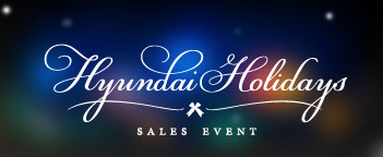 Hyundai Holidays Sales Event - Glassman Southfied, MI