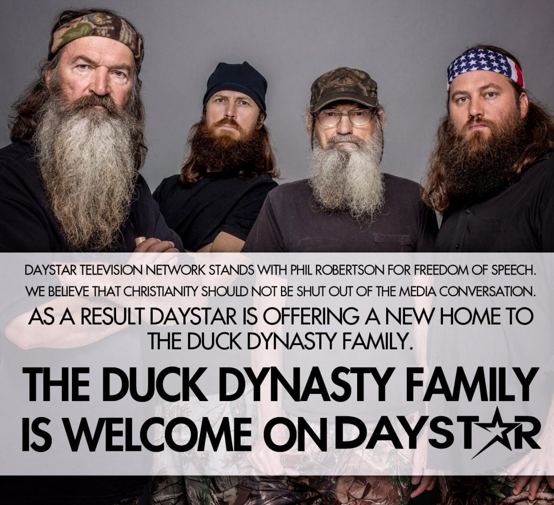 Daystar offers to air Duck Dynasty