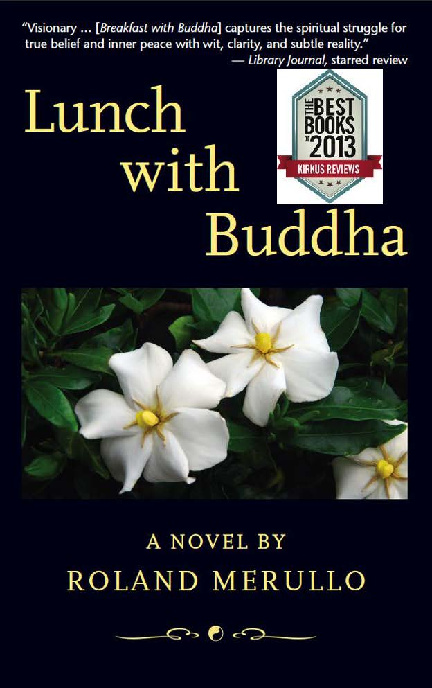 Lunch with Buddha Front Cover with Kirkus Best of 2013 designation