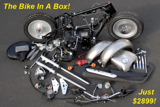 CSC Motorcycles Bike In A Box & CSC Introduces