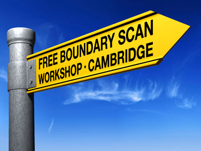 Free boundary scan workshop - Cambridge