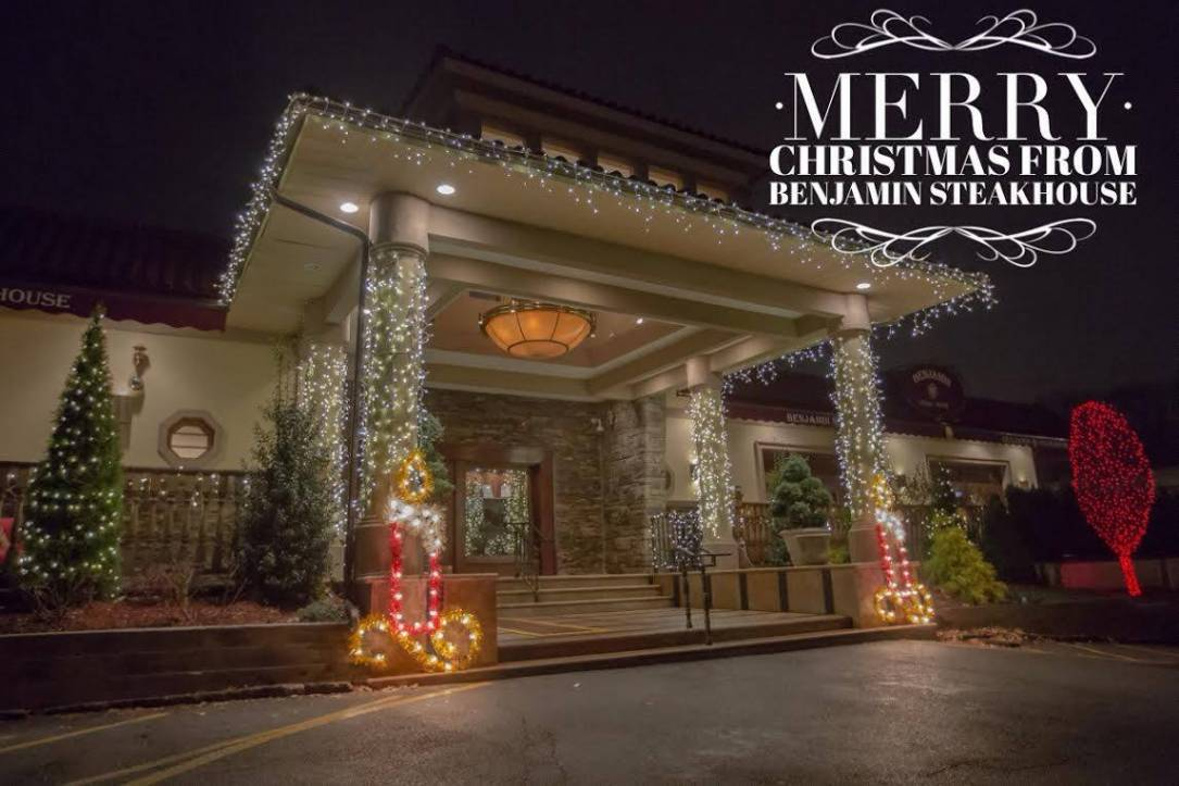 Merry Christmas from Benjamin Steakhouse Westchester