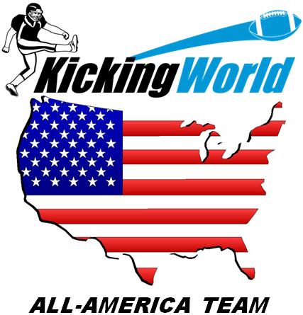 kicking world all-america team