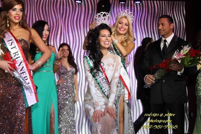 Setareh Khatibi Miss Mexico U.S. 2013